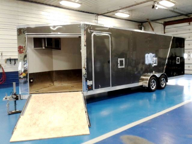 Amerilite Snowmobile Trailer With Aluminum Interior Walls