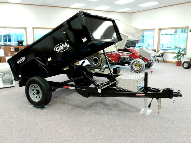 Cam Advantage 5x8 Dump Trailer