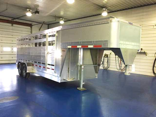 Eby Maverick Gooseneck Trailer at metzler trailer