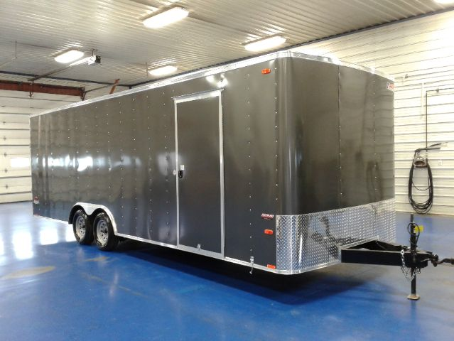 Pace 24 Ft Car Hauler Tall Charcoal