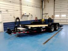 Cam Superline 18ft Full Tilt Equipment trailer