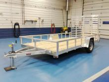 Heavy Duty Utility Trailer At www.metzlerauto.com